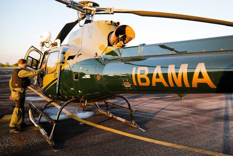 Policiais na Base Aérea do Cachimbo durante preparativos antes de participarem da Operação Verde Brasil 2, do Ibama, durante o combate ao garimpo clandestino no Pará, município de Jacareacanga (PA). Sergiom Lima 05.08.2020