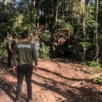 SEMAS da inicio a quinta fase da Operação Amazônia Viva em Novo Progresso