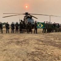 Operação Verde Brasil 2 - Base de Operações, Tapajós, foi montada em Novo Progresso