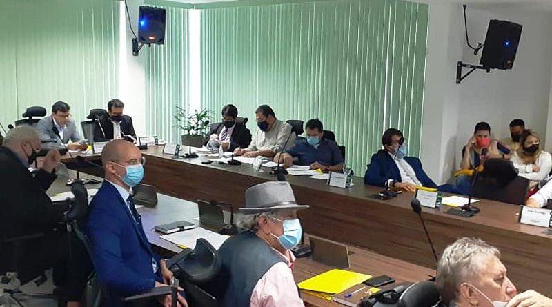 Membros do Coema aprovaram licença prévia e julgaram processos punitivos (Foto:Divulgação SemaS-PA)