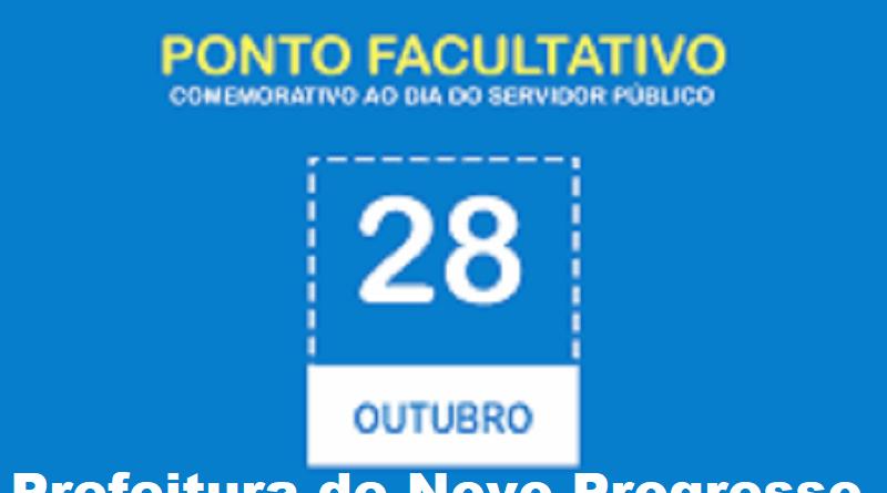 Dia do Servidor: Prefeitura decreta ponto facultativo para amanhã dia 28