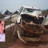 Pai é sepultado e filho vítima de acidente na BR-230 tem morte cerebral e respira com ajuda de aparelhos