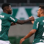 Palmeiras define jogo no 1º tempo e conquista boa vantagem contra o Bragantino