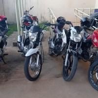 Quatro motociclistas e motos são apreendidas por perturbação do sossego em Novo Progresso