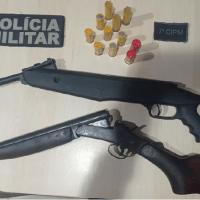 Homem é preso suspeito de usar arma para ameaçar moradores em Alvorada da Amazônia