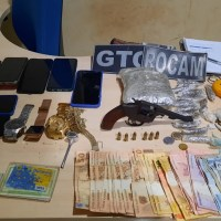 Novo Progresso – Policia Militar apreende drogas e arma de fogo no Bairro Jardim América