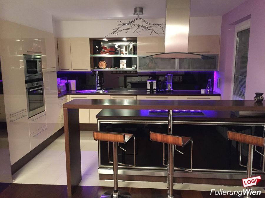Klebefolie für Küche Möbel Küchenfolierung mit Montage - klebefolie kueche kuechenmoebel