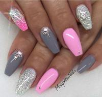 31 Trendy Nail Art Ideas for Coffin Nails  Page 31 ...