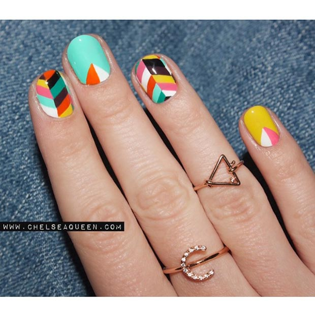 80 Gorgeous Nail Designs For Short Nails Page 35