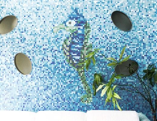 mosaik seepferd hotel mayer bibione italien familienurlaub