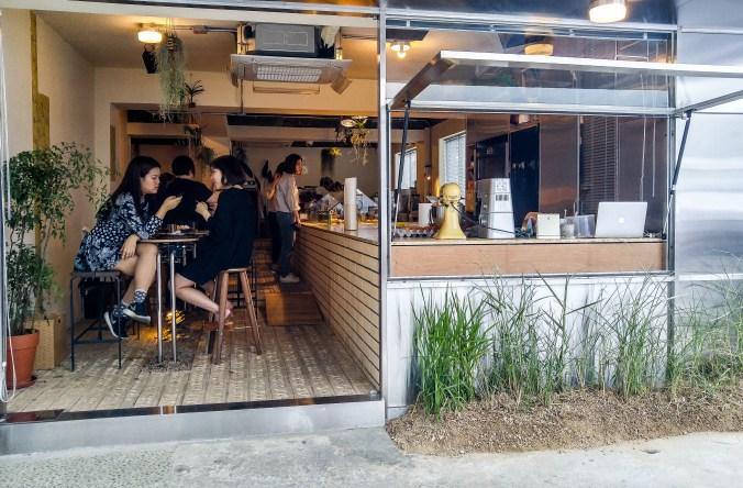 Sous le Gui, dessert cafe in Hannam-dong, Seoul.