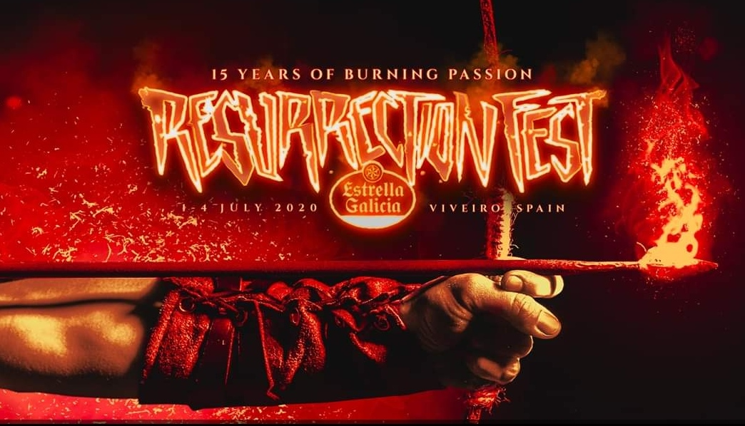 COMUNICADO RESURRECTION FEST 2020