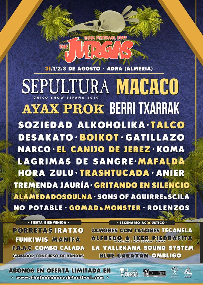 THE JUERGAS FESTIVAL 2019