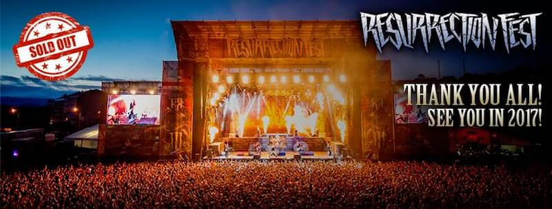 Resurrection Fest 2017 – «Behind the scenes» by Jagermeister