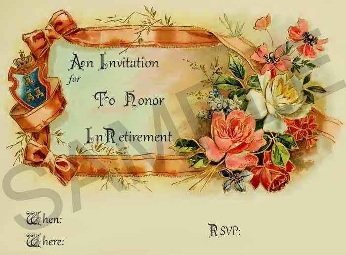 Farewell Retirement Invitations - farewell invitations templates