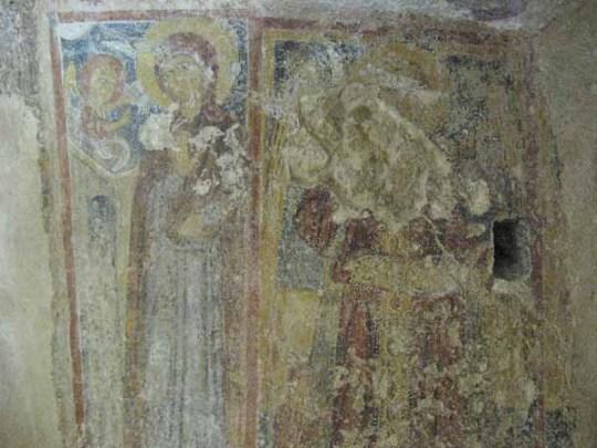 Cripta del Crocifisso. Annunciazione