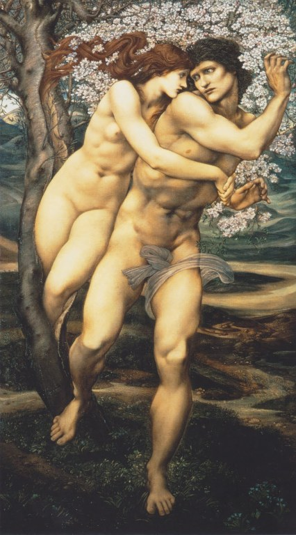 Edward Burne-Jones, The tree of forgiveness