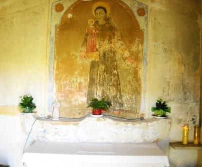 Masseria Termide, cappella di Sant'Antonio Abate (ph. F. Suppressa)