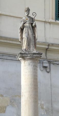 Statua di San Lazzaro
