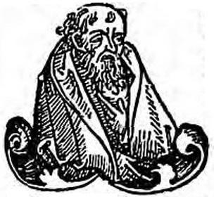 Empedocle, immagine tratta da Hartman Schedel, Liber Chronicarum, Koberger, Norimberga, 1493