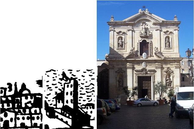 Cattedrale (mappa1/mappa2/ http://it.wikipedia.org/wiki/File:Cattedrale_San_Cataldo_a_Taranto.jpg)