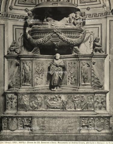 Il dramma eternato: la tomba Bonifacio nella chiesa dei SS. Severino e Sossio a Napoli