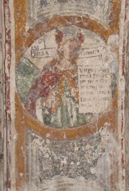 una delle Sibille in S. Maria di Casole
