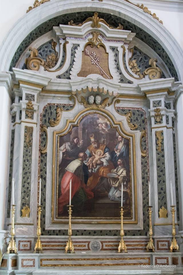 (Fig.1 ) Paolo De Maio, Circoncisione di Nostro Signore, 1751, Latiano, Chiesa del Santissimo Rosario. (Foto concessa da Federica D'Ambrosio)