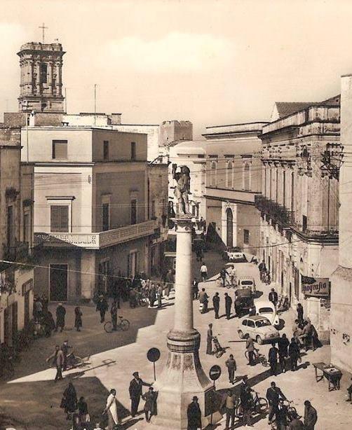 Copertino. Alcune vicende intorno alla colonna di S. Sebastiano