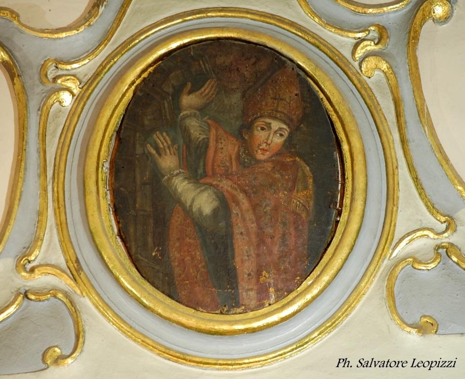 Parabita. Un insolito dipinto raffigurante Sant'Emidio nella chiesa matrice