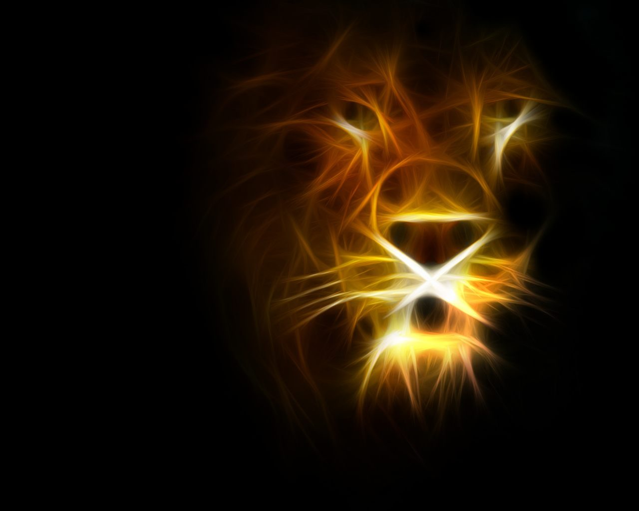 3d Fire Lion Wallpaper Set The Lion On Fire Feel Free To Share My