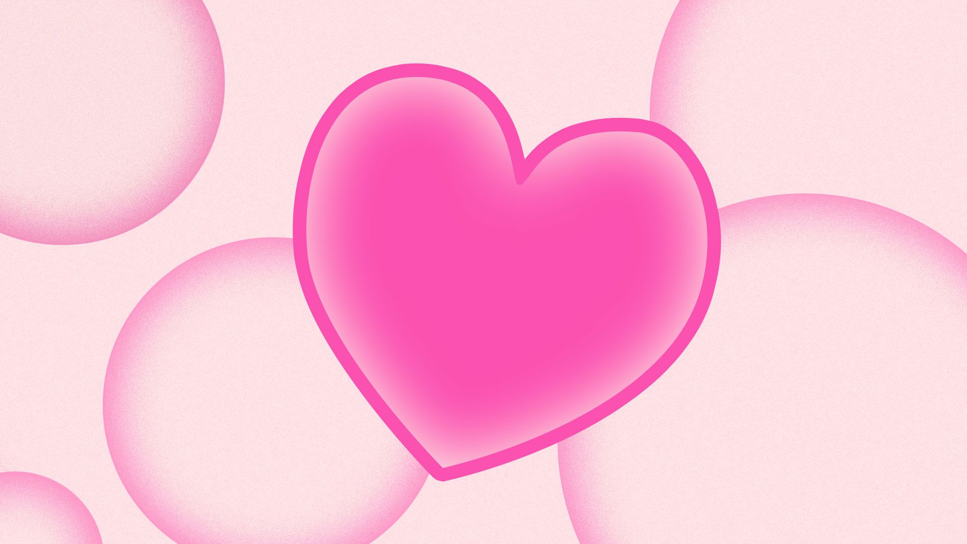 Wallpaper Cute Plain Corazones Rosas Hd Fondosdepantalla Top