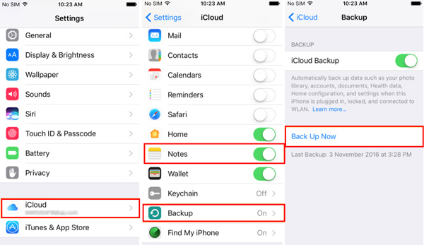 Recommended Easiest Way to Backup iPhone Notes  Restore