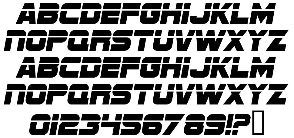 SF Sports Night font by ShyFonts - FontRiver