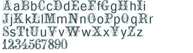ornamental fonts list