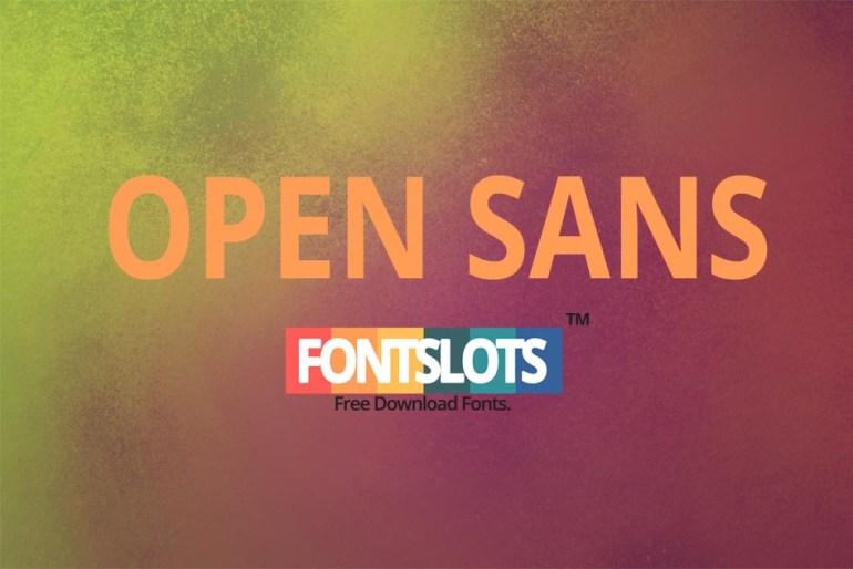 Open Sans Font
