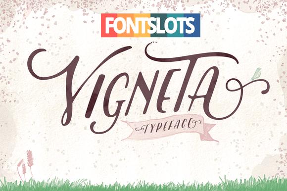 Vigneta Typeface Font