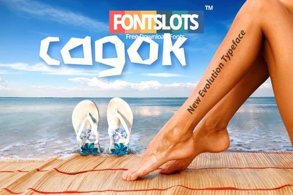 Cagok Letter Font