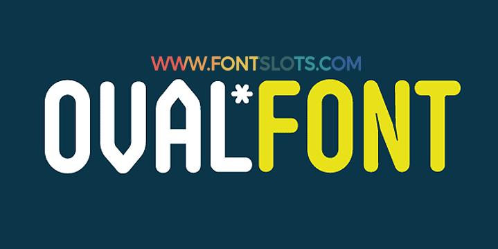 Oval Font