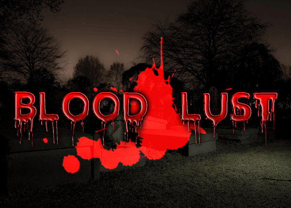 Blood Lust Font