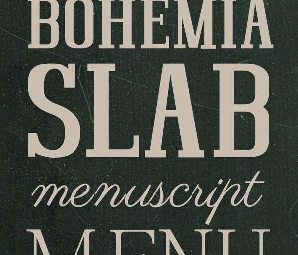 Bohemia Slab Font