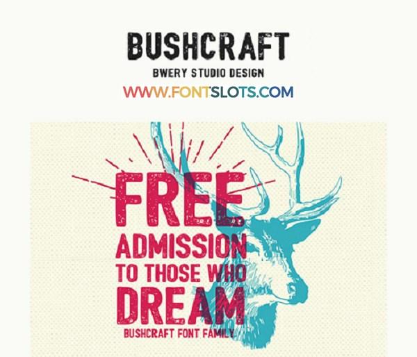 Bushcraft Font