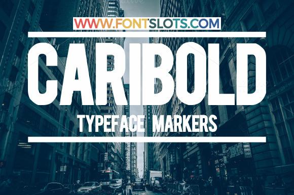 Caribold Font