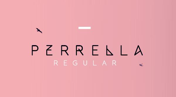 Perrella Typeface Font