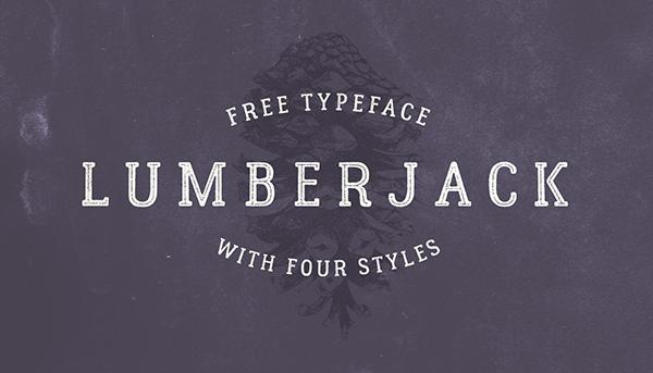 Lumberjack Font