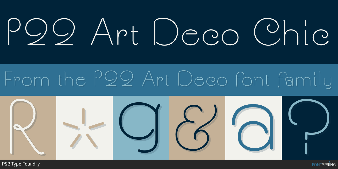 free art deco fonts