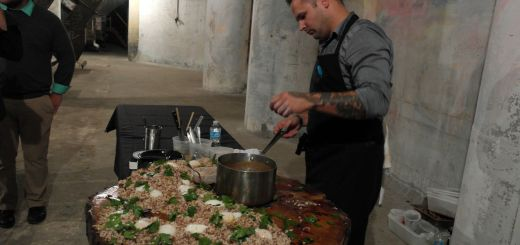 Ed Forster with grain salad