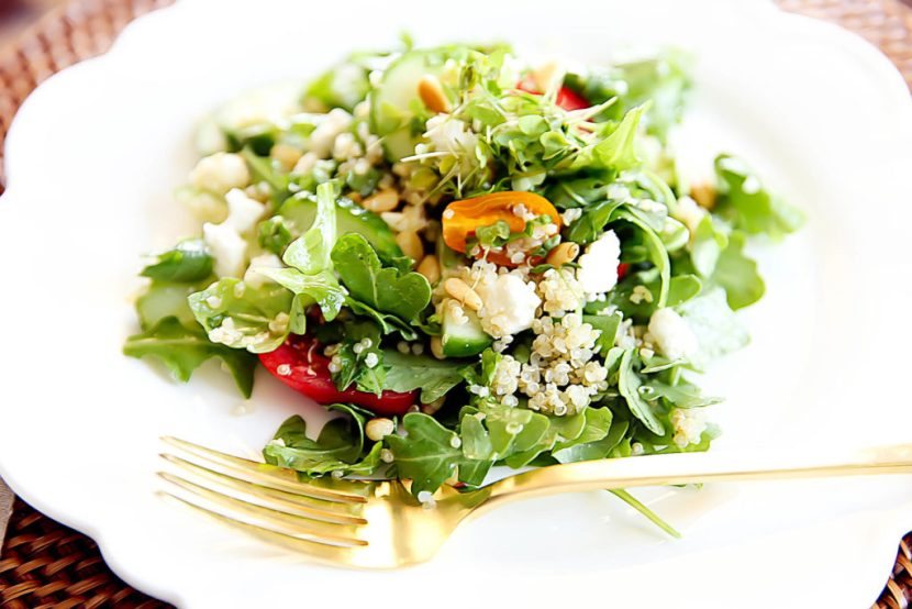 Quinoa Salad with Arugula