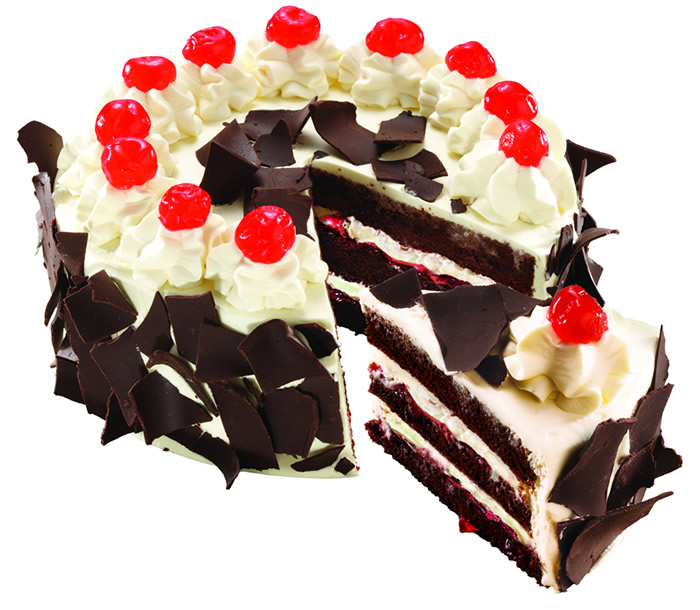 ... rest of the world in its more recognizable name: Black Forest Cake