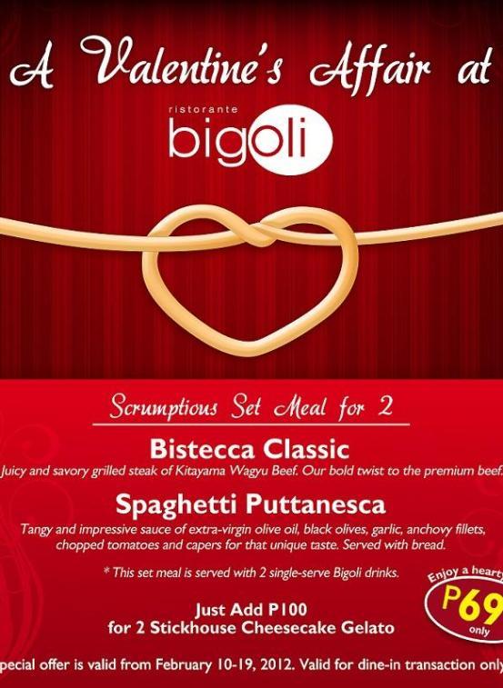 Bigoli Valentines Affair